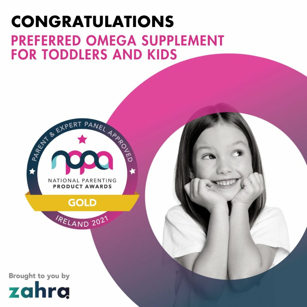 #NPPA 2021 Gold Winner - Preferred Omega-3 Supplement for Toddlers and Kids